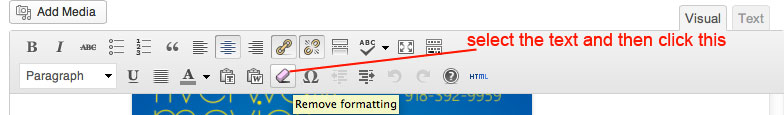 remove-formatting